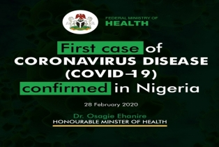 Health Minister: First Case Of COVID-19 Confirmed ...